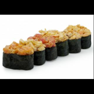 Спайси суши с кальмаром